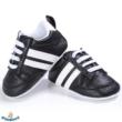 Baba sportcipő kocsicipő fekete színben 0-6 hós