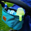 Babakocsi táska kék színben