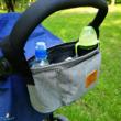 Babakocsi táska szürke színben