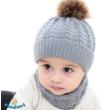 Babasapka babasál téli szett szürke