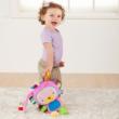 Nyuszis készségfejlesztő címkés babajáték