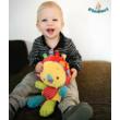 Oroszlános készségfejlesztő címkés babajáték
