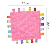 Rózsaszín buborékos rongyi alvóka