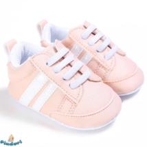 Baba sportcipő kocsicipő rózsaszínben