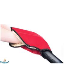Babakocsi kézmelegítő, babakocsi kesztyű piros