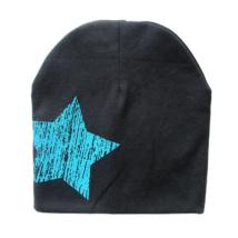 Babasapka fekete nagy csillag mintával