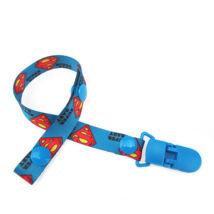 Cumilánc csipesszel Superman mintával