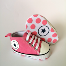Baba tornacipő kocsicipő rózsaszín 0-6 hós