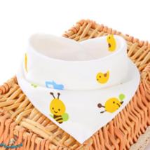 Nyálkendő méhecskés mintával