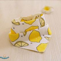Nyálkendő citromos mintával