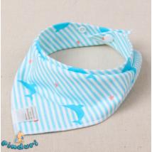 Nyálkendő delfines mintával