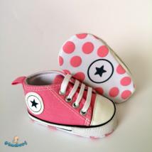 Baba tornacipő kocsicipő rózsaszín