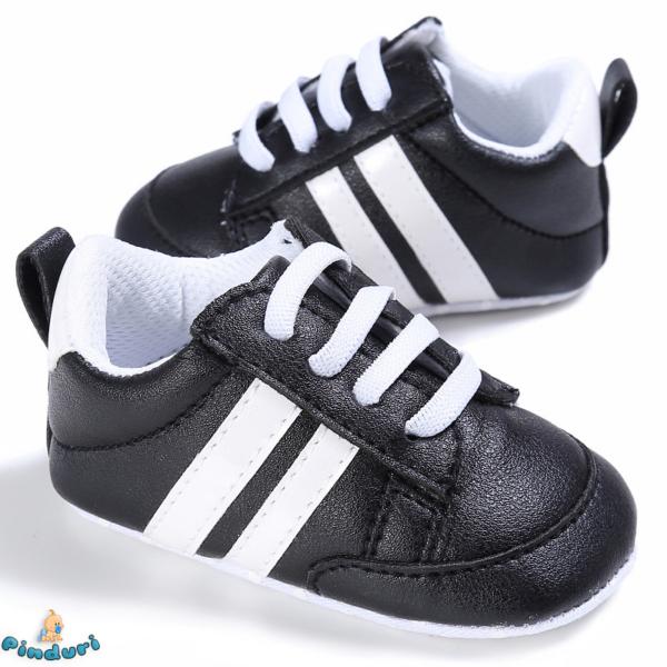 Baba sportcipő fekete színben 0-6 hós