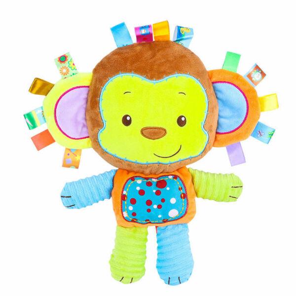 Majmóca készségfejlesztő címkés babajáték