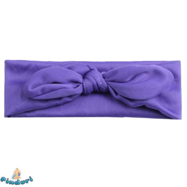Baba hajpánt lila színben