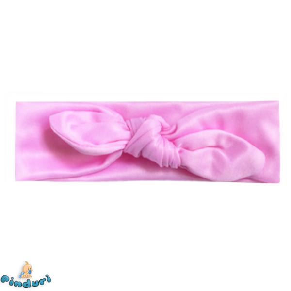 Baba hajpánt világos rózsaszínben