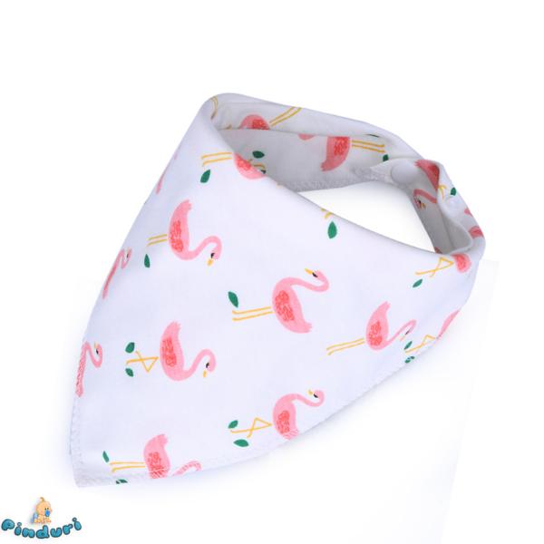 Nyálkendő flamingós mintával