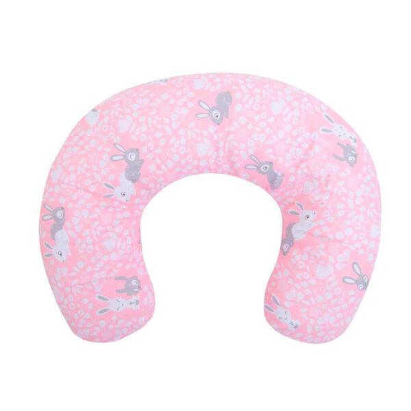Szoptatós párna rózsaszín nyuszis